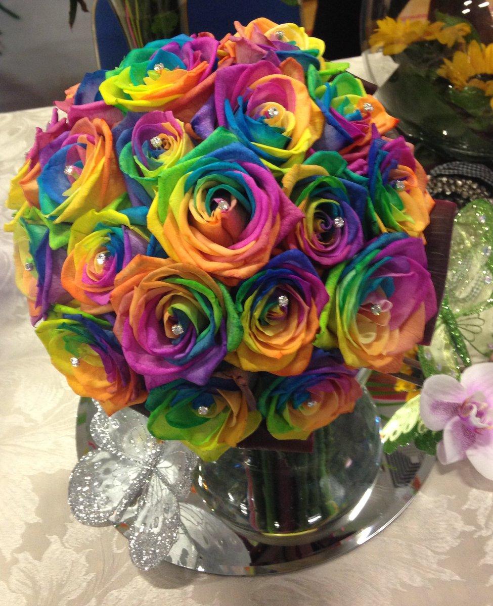 Радуга с цветами картинки букеты