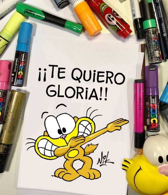 Sigo dibujando hasta el fin del Mundial!!! Con nuevos Gaturros, Ágathas y Gaturrines!!! Acá van más, ya sabes: Like y RT, y pedí el TUYO!! Dale!! Te espero!! #BuenJueves Foto