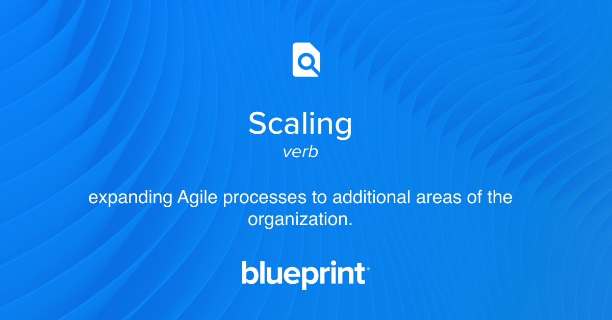 Blueprint blueprintsys twitter to define particularly in a large complex enterprise start the learning journey in our scaling agile 101 hub httpbit2u6yoos picitter malvernweather Gallery