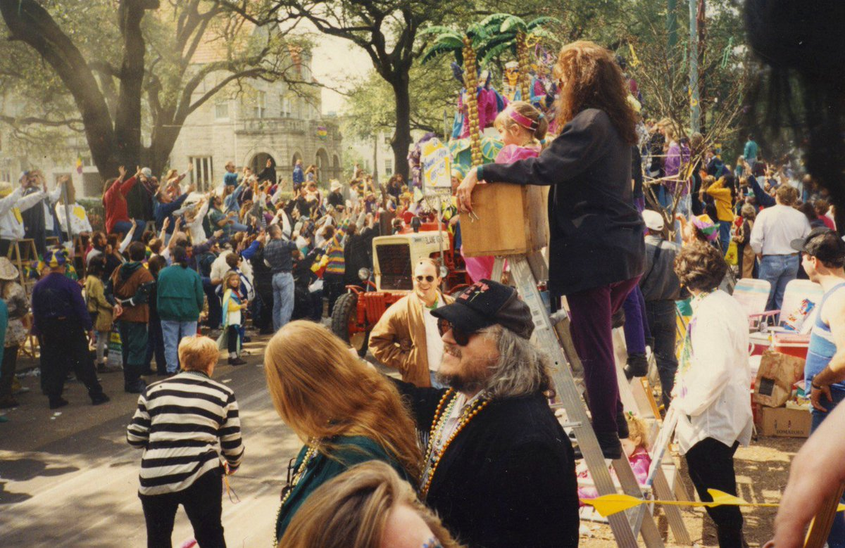 #TBT #NOLA #Alliteration One of my many magnificent Mardi Gras memories.