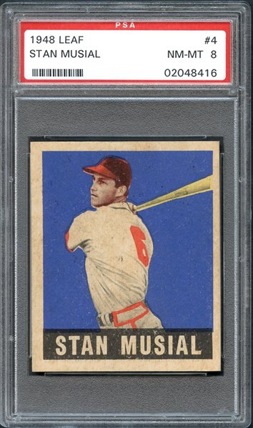 Psacard On Twitter This 1948 Leaf 4 Stan Musial One Of