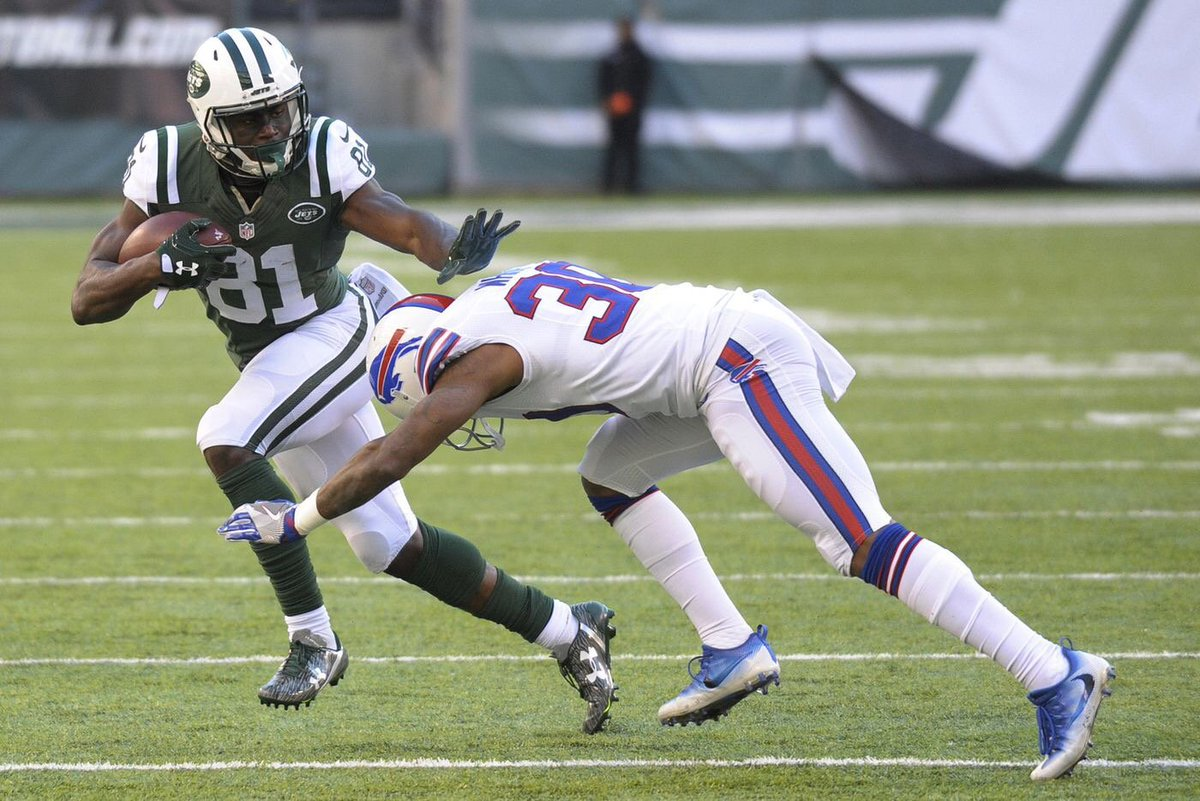 🚨JETS TOP 20 COUNTDOWN 🚨   No. 12: WR Quincy Enunwa  DID YOU KNOW? In 2016, Enunwa led the Jets in receiving yards (857) and touchdowns (four)... and finished second in receptions (58) and targets (105).   Story: https://t.co/xxnn71uMtC