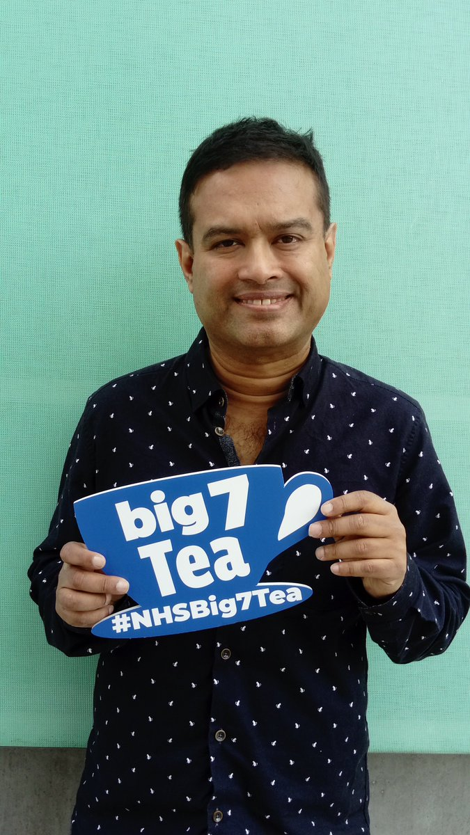 Paul Sinha On Twitter Thanks To Nhs70 For All Your Help With Every Single Member Of My Immediate Family Including Me