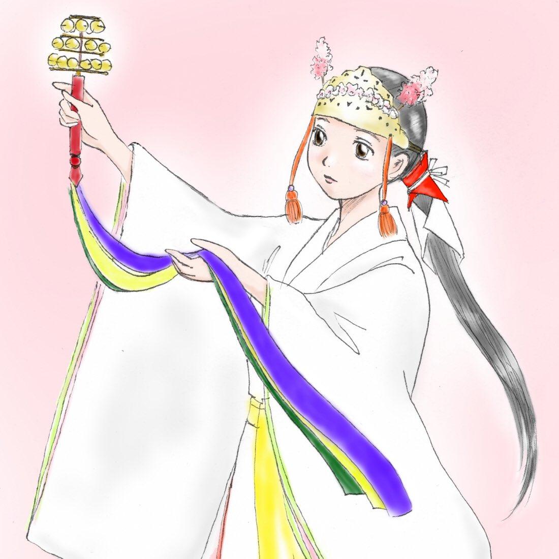 巫女舞 hashtag on twitter