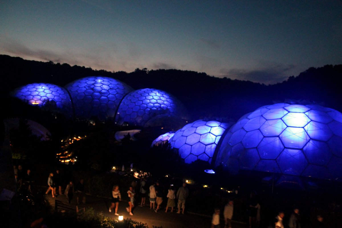 Eden Project On Twitter Happy 70th Birthday NHS Our Biomes Have Gone Blue Tonight In Support NHS70 LightUpBlue