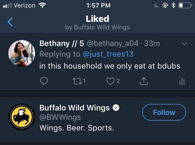 Buffalo Wild Wings on Twitter: