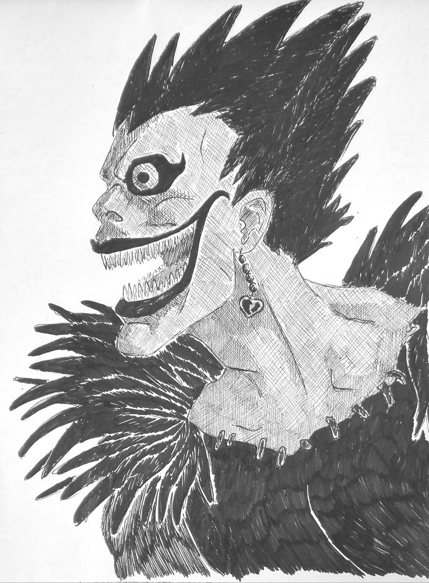 Beka On Twitter Ryuk From Death Note As Requested By