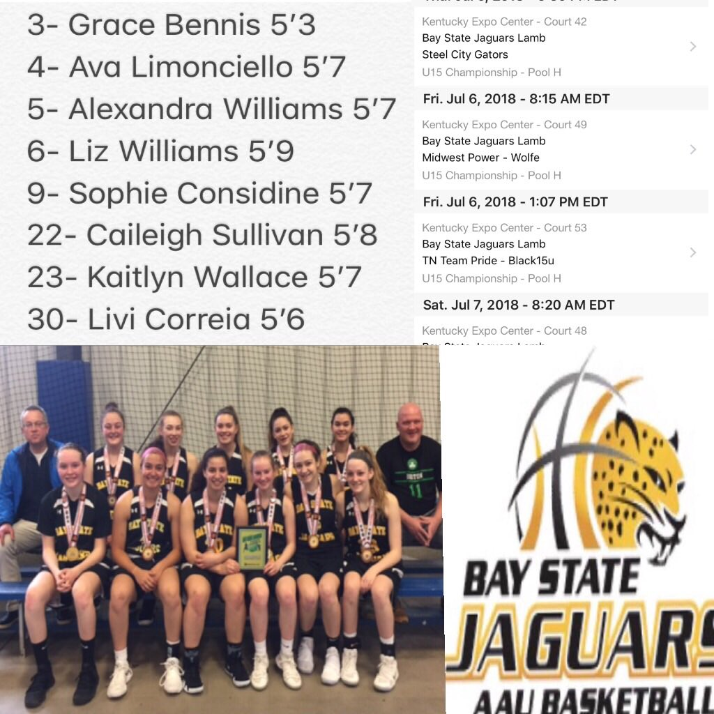 Bay State Jaguars 2020 Lamb Team Is Ready To Compete🏀 #baystatejaguars  #together