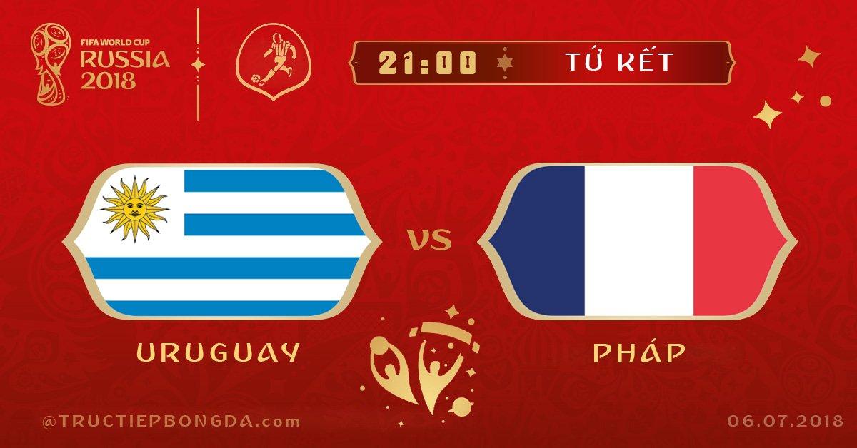 Uruguay vs Pháp