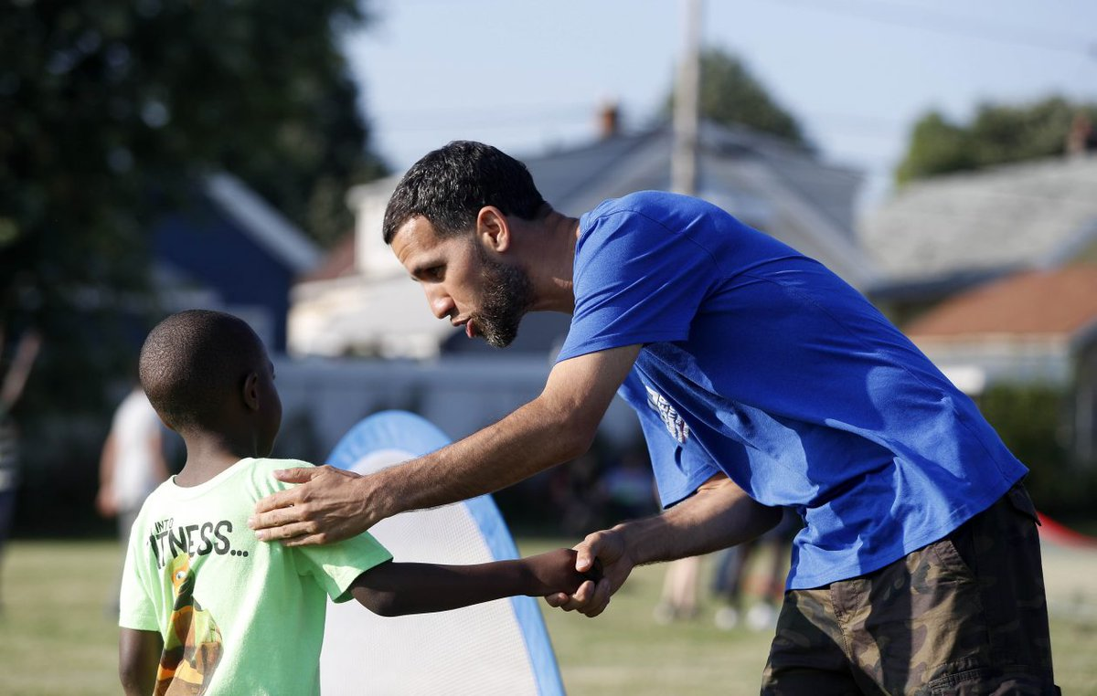 When I started to know these kids really need me, thats when I started to let people back into my life. ⚽ Iraq War veteran Teddy Rivera is an AmeriCorps coach and mentor, and thats making a world of difference in his return home from combat. Story: bit.ly/2KTvqnU