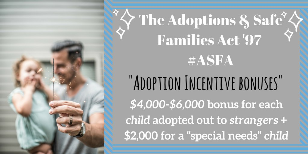 the adoption and safe families act essay Essay: child welfare policy the adoption and safe families act of 1997 (public law 105-89) was a major reform with regards to child welfare provisions since being enacted in.