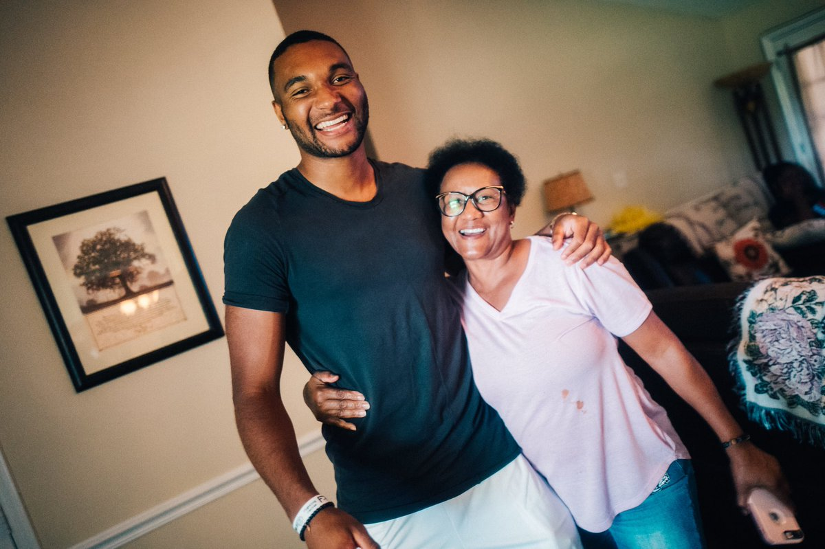 Picture of Jonathan  Tah Mother, called Anja Tah