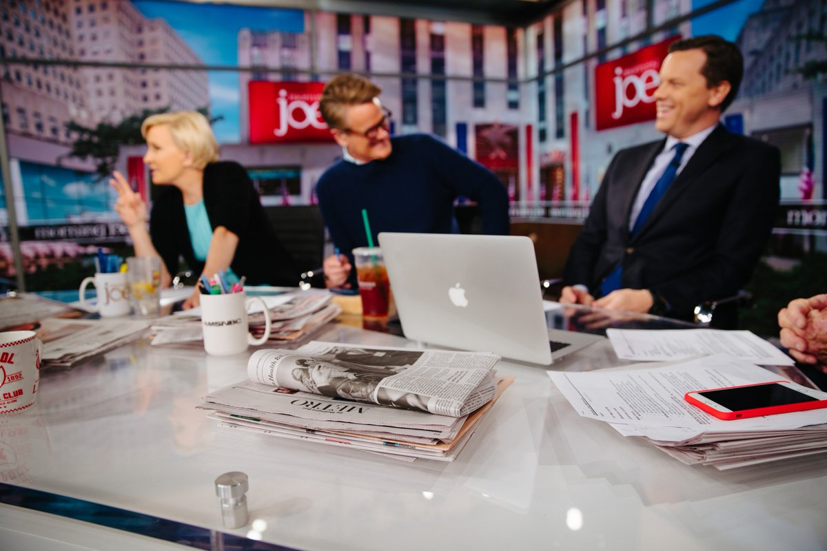 'That's what's so interesting about this time—you find yourself often on the same side with people you have been on the opposing side from for 25 years.' — @JoeNBC  Get your @Morning_Joe on the go with their newsletter every weekday in your inbox:  https://t.co/d2LN6iwYDr