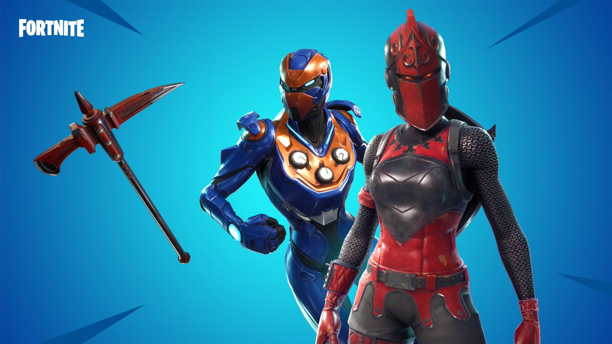 Fortnite On Twitter Fight For Honor With The Red Knight And New