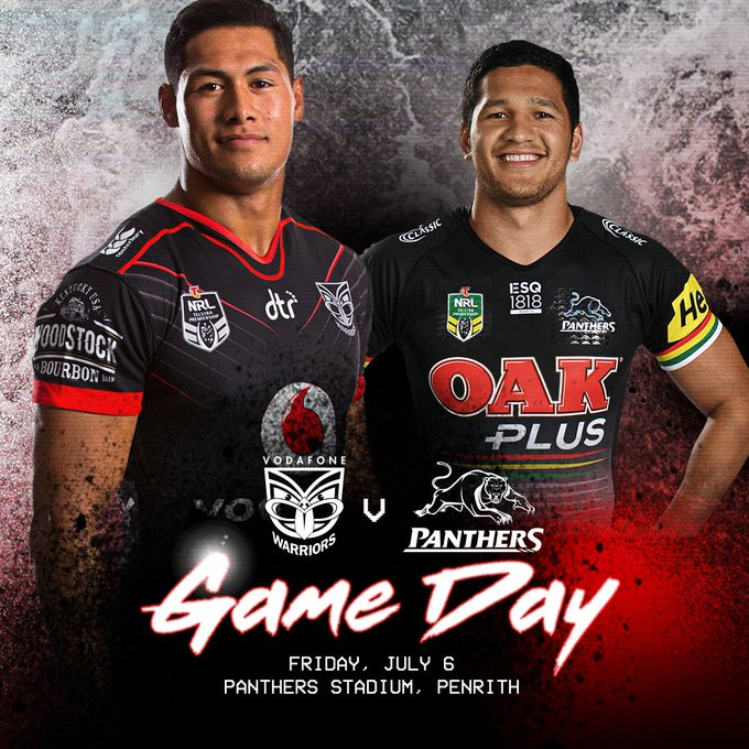 Game day in Penrith #WarriorNation! 😝v🐾 [Tickets] Photo