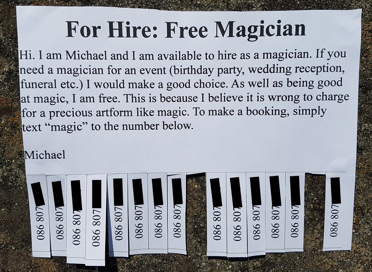 Michael The Magician at your service