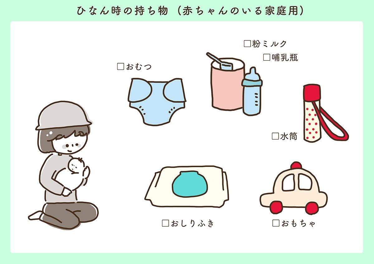 Haiji At ほっこりイラスト On Twitter 地震や大雨などのときに避難所に