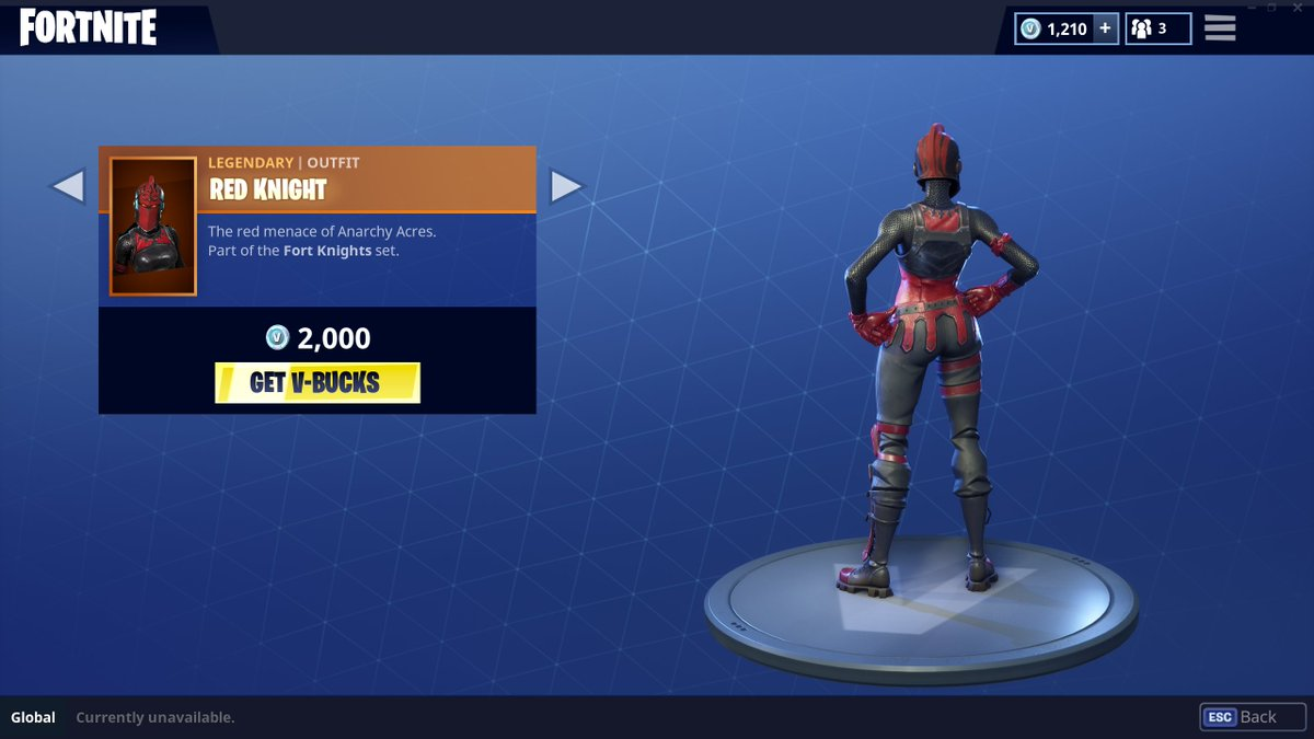 Fortnite News Fnbr News On Twitter Warning Red Knight Doesn T