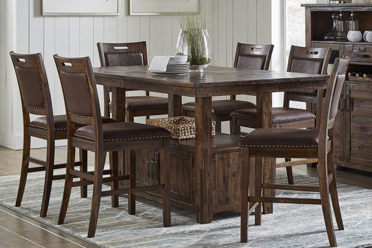 Excellent Mor Furniture On Twitter The Cannon Valley Dining Room Set Download Free Architecture Designs Jebrpmadebymaigaardcom
