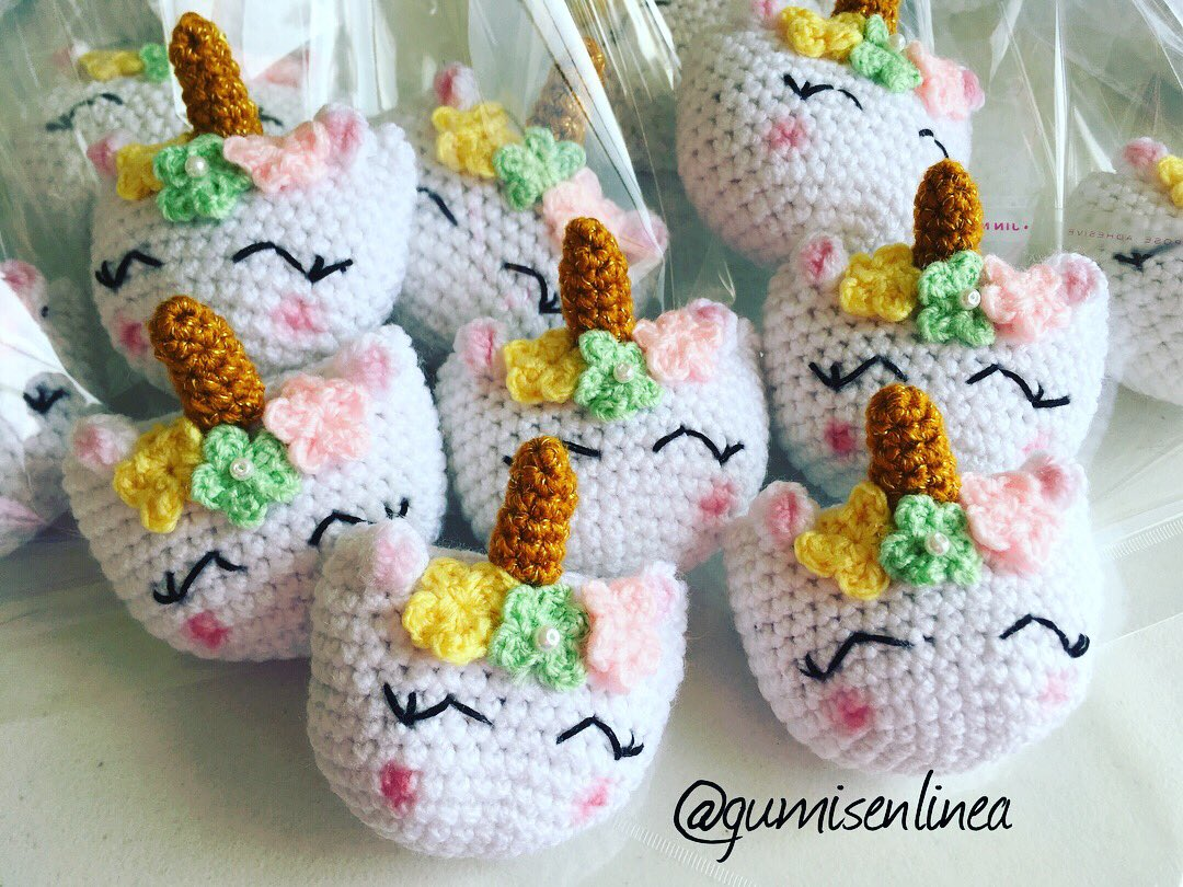 ▷ 9 Tutoriales de UNICORNIOS TEJIDOS a crochet | 9️⃣🦄 | 810x1080