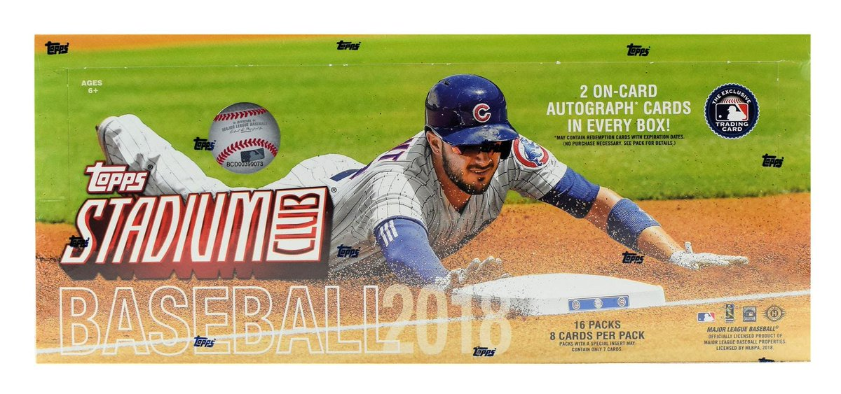 Gogtslive On Twitter Were Opening Two Boxes Of 2018 At Topps Mlb