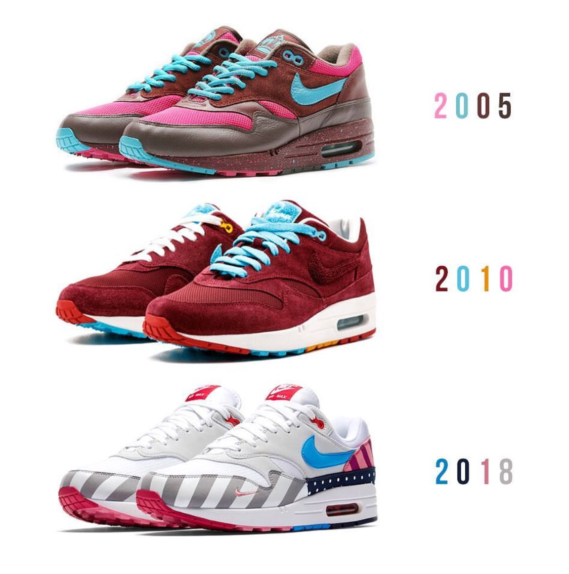 Nike Air Max 1 HISTORY OF AIR 2005