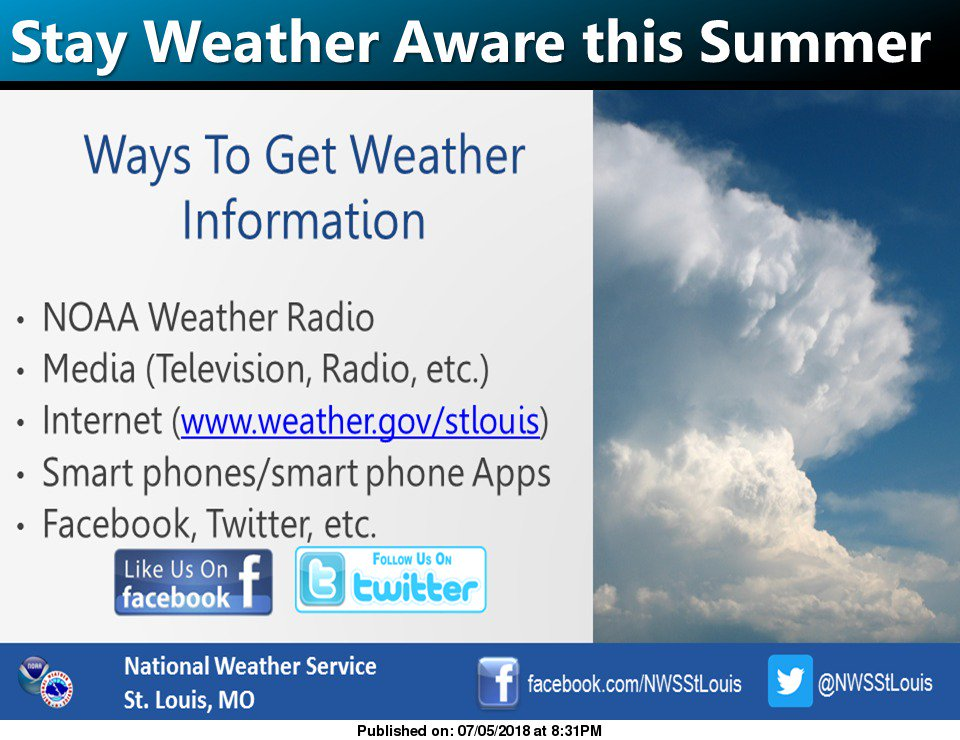 Nws St Louis On Twitter Cooler