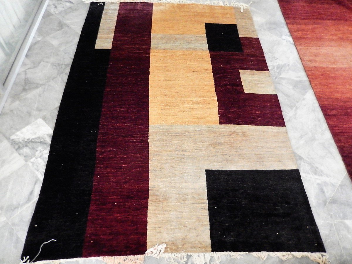 Moder Gabbeh #rugs available. #carpets Contact us. http://sakamaonline.compic.twitter.com/tskr1pUTcm  by Leather Jacket Outfits
