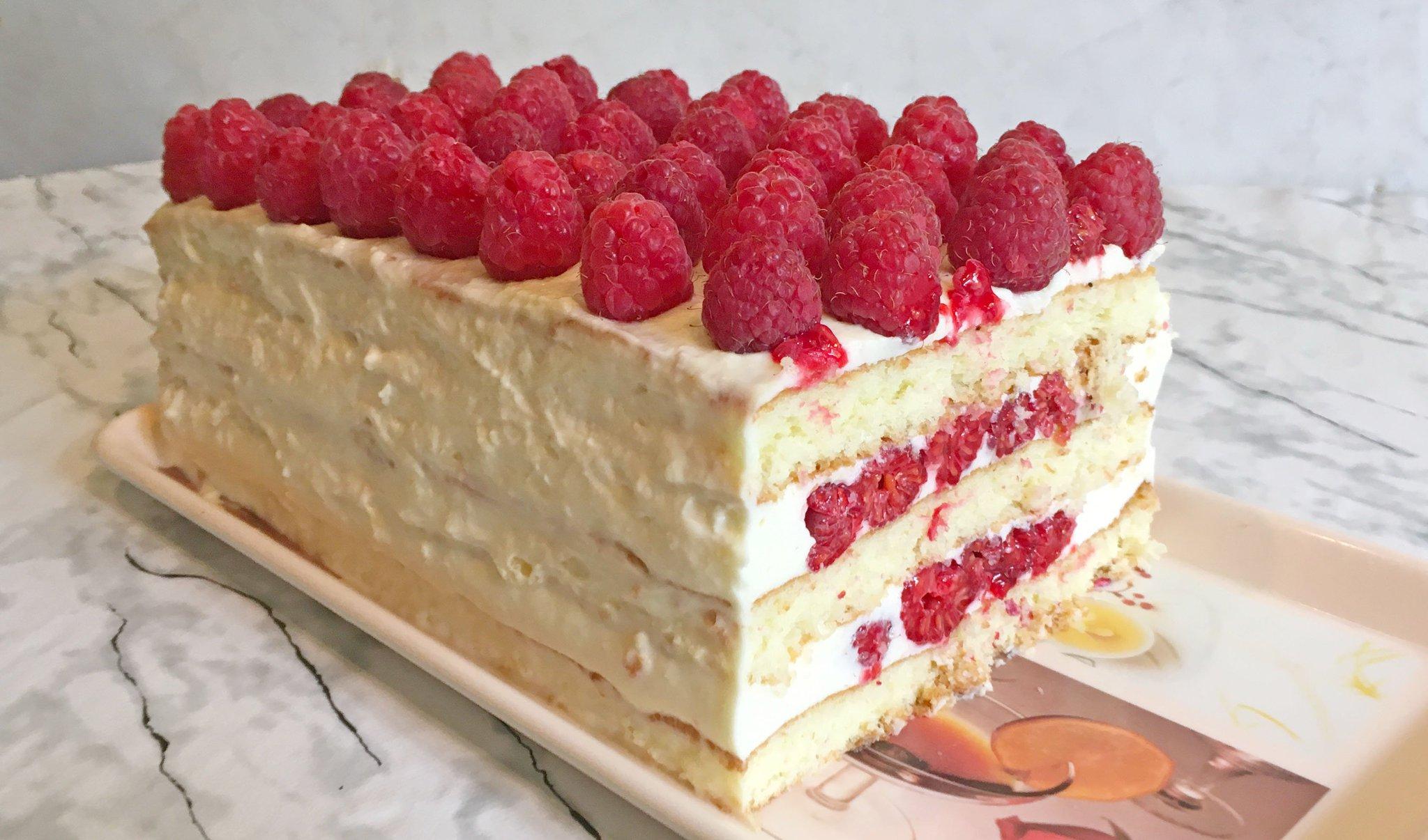 Малиновый торт простой рецепт с фото