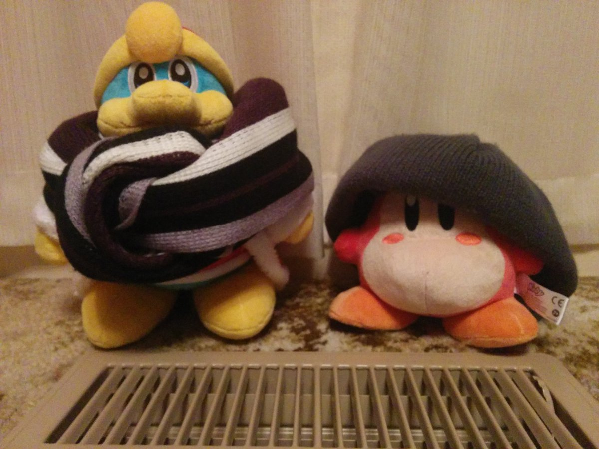 Kirby Plushes With Random Objects On Twitter It S Weird To Realize
