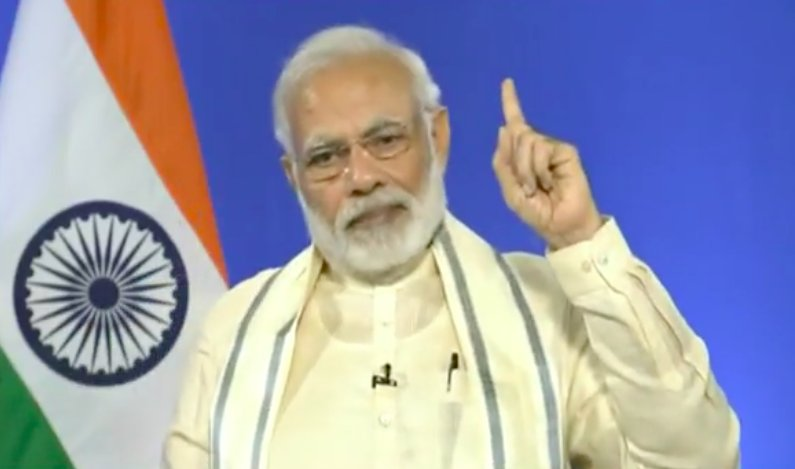 PM Narendra Modi addresses Saurashtra Patel Cultural Samaj of USA via video in Gujarati