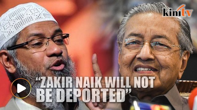 Image result for Mahathir and Naik