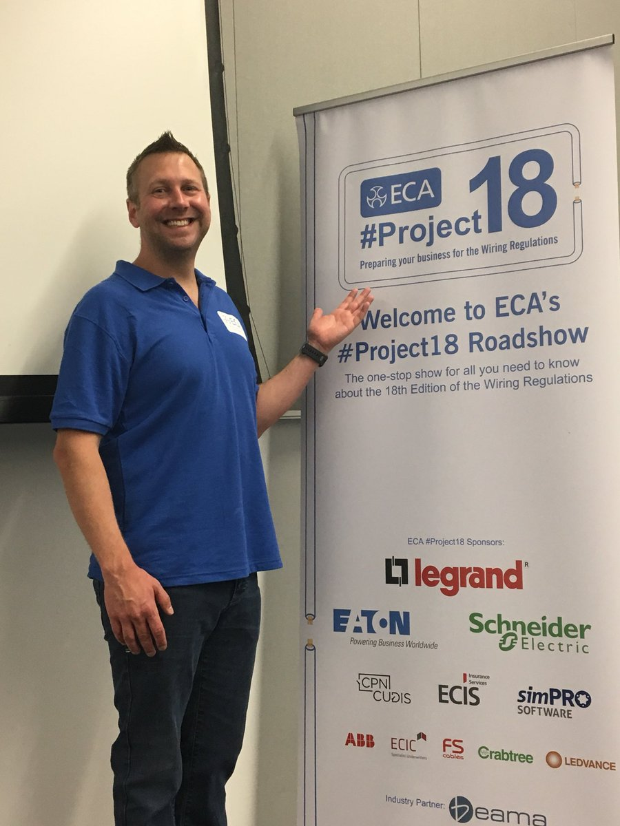 Phip Woodhatch On Twitter Good Morning Cardiff Ecalive Members Bs7671 Wiring Regulations Book Project18 Roadshow Kicks Off This At Allnationsconf Your Free Wiringregs Awaits You As Does Tech Guru Gary