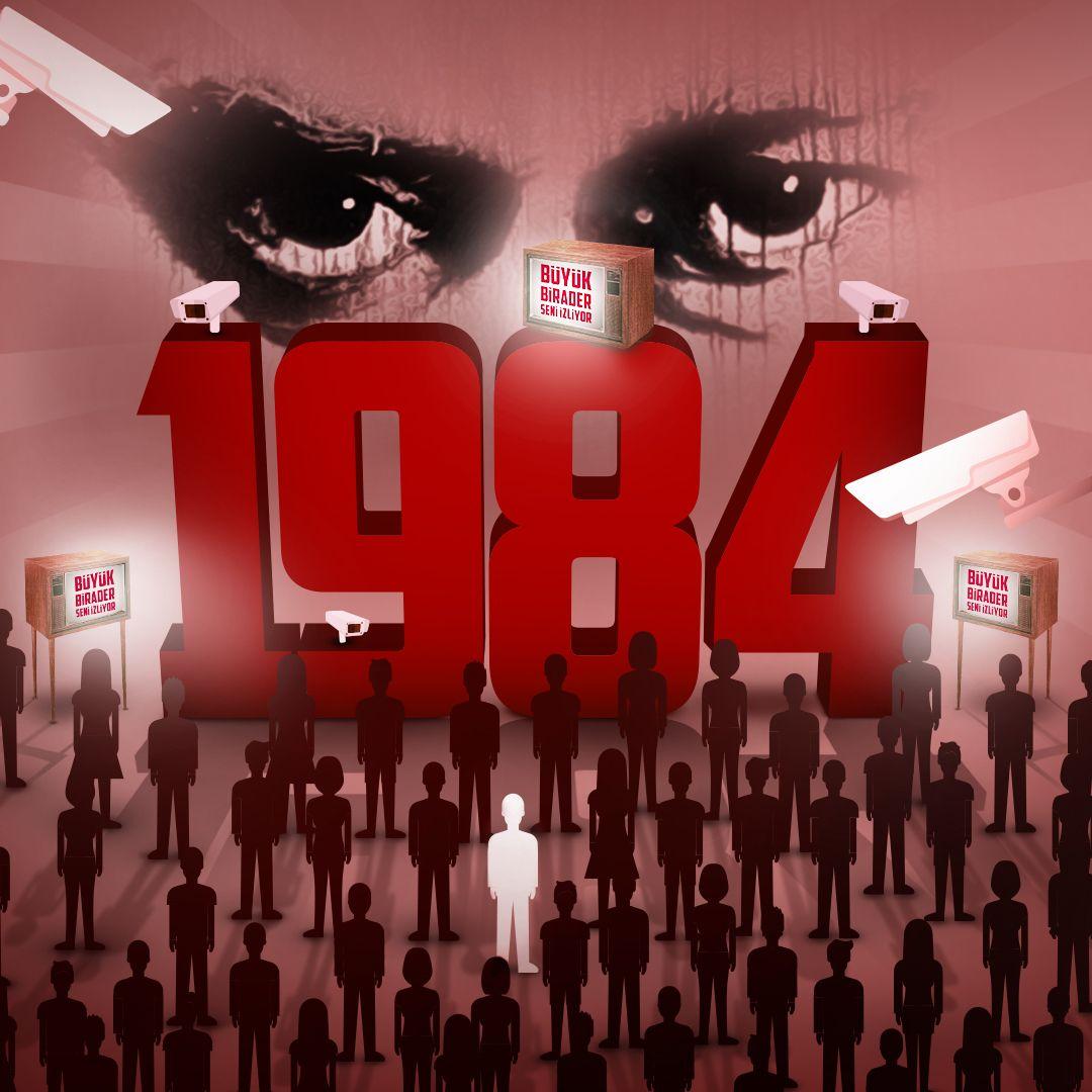 gEORGE oRWELL'İN 1984 ROMANININ RESİMLERİ ile ilgili görsel sonucu