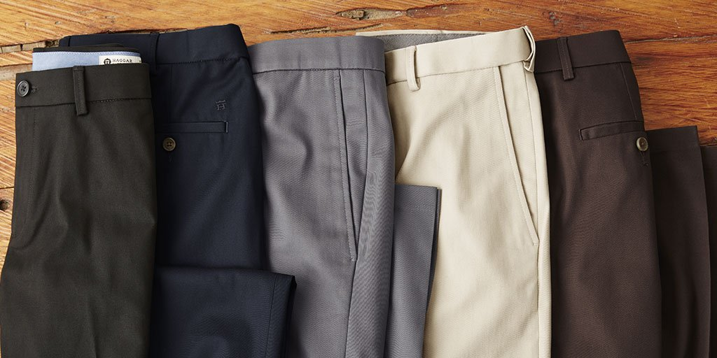 It's your lucky day! ☘️ Our Premium No Iron Khaki pants are still only $29.99 until tomorrow!
