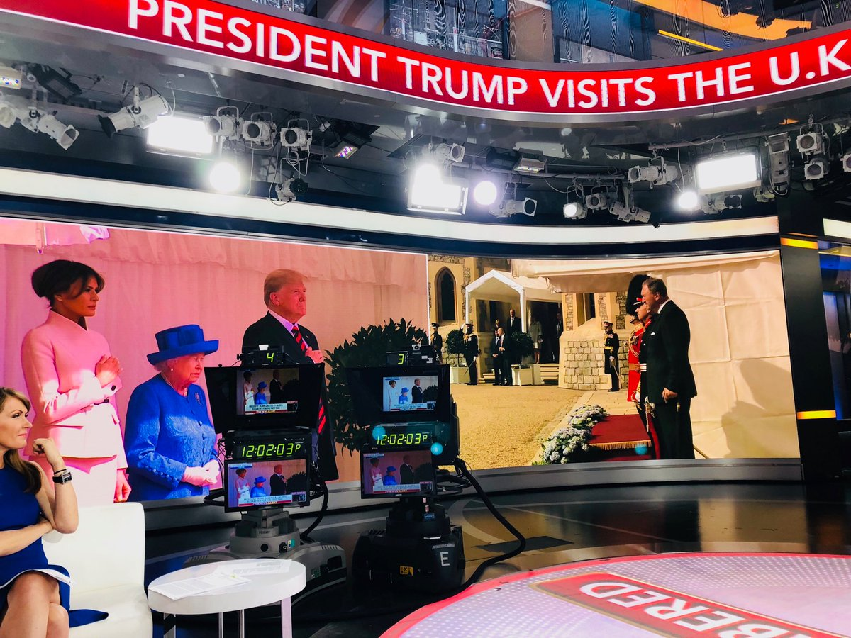 Pretty great moment to be on @OutnumberedFNC with @HARRISFAULKNER @dagenmcdowell @RCamposDuffy #TrumpQueenMeet