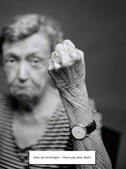 Christine Nöstlinger ist im Alter von 81 Jahren gestorben. Das Bild stammt aus unserem Interview ohne Worte mit der Kinderbuchautorin: Foto