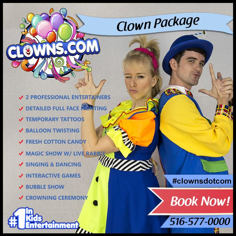 Clowns Com On Twitter Hire The Best Kids Party