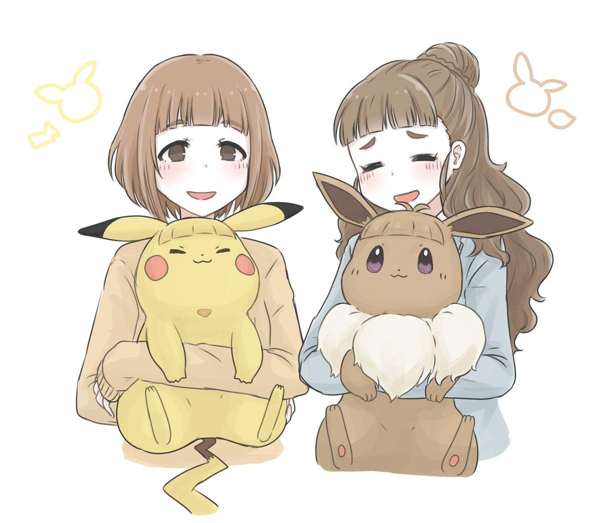 前髪ピカブイと柚奈緒ちゃんと描き直したのだ