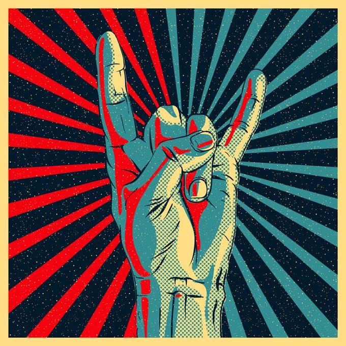 🎉¡Feliz Día Rockeros!🎉 ¡Hoy 13 de julio celebramos el #DíaMundialdelRock! 🤟😃🤟 👉🏻 Foto