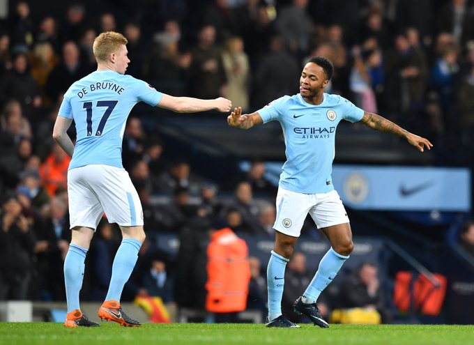 Kevin De Bruyne on Raheem Sterling: I don't understand why you would criticise people from your own country when all they are trying to do is win. I hope he will get the love he deserves. He's an easy-going guy who gives everything for everyone, even with the criticism. Photo