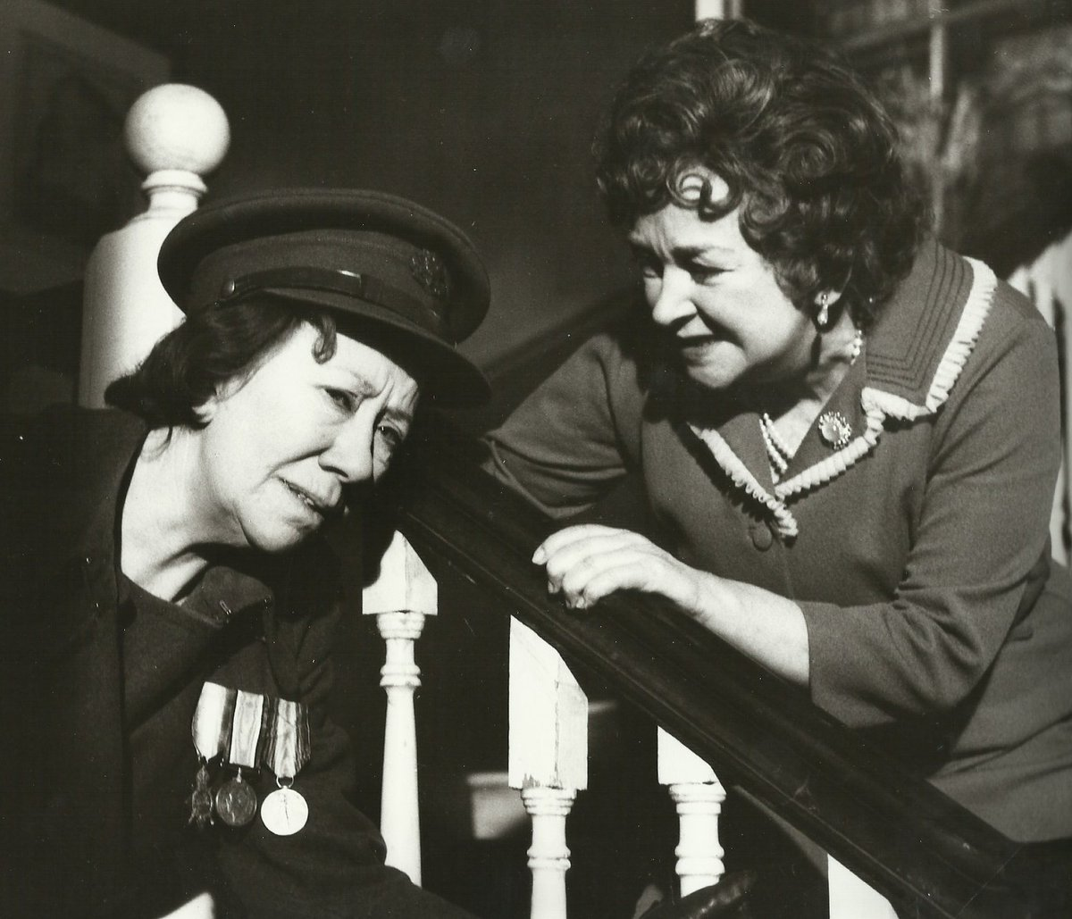 During the making of The Beast in the Cellar (1970), a crew member politely invited &quot;Dame Flora &amp; Dame Beryl&quot; to take their places on set.  Flora Robson: &quot;Oh no dear, Beryl&#39;s not a Dame&quot; Beryl Reid: &quot;No, I&#39;m not. But I do have all my own teeth&quot; <br>http://pic.twitter.com/7uciSbAskG