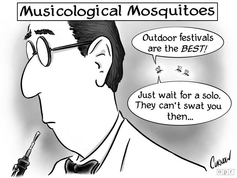 A midsummer night at Tanglewood...