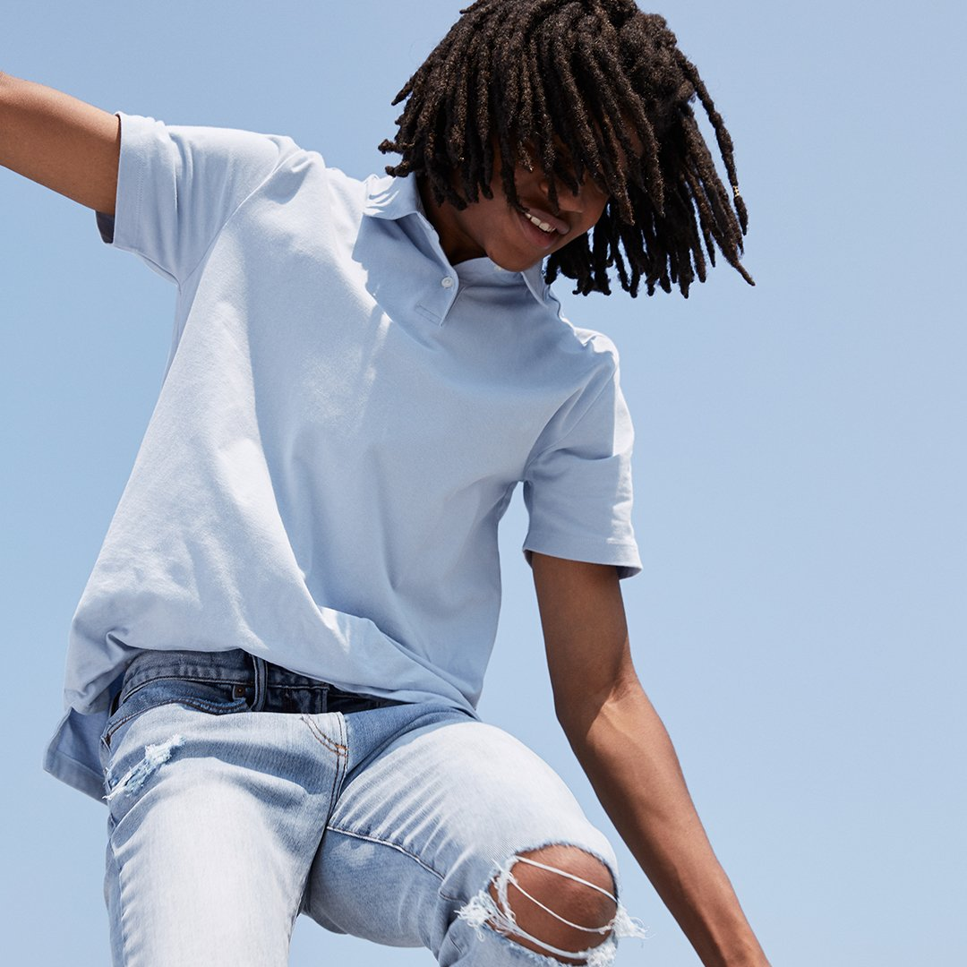 Gap On Twitter How To Make A Polo Shirt Anything But Stuffy Add