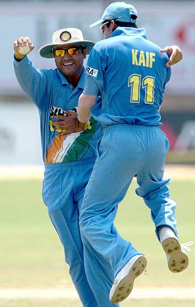 Just like timing your catches to perfection, timed the retirement perfectly @MohammadKaif . 16 years to the day we conquered Lord's and won the NatWest Trophy. Wish you a very happy and satisfying retired life.