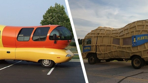 NUTmobile, Wienermobile are both in town this weekend dlvr.it/QbR8Zj
