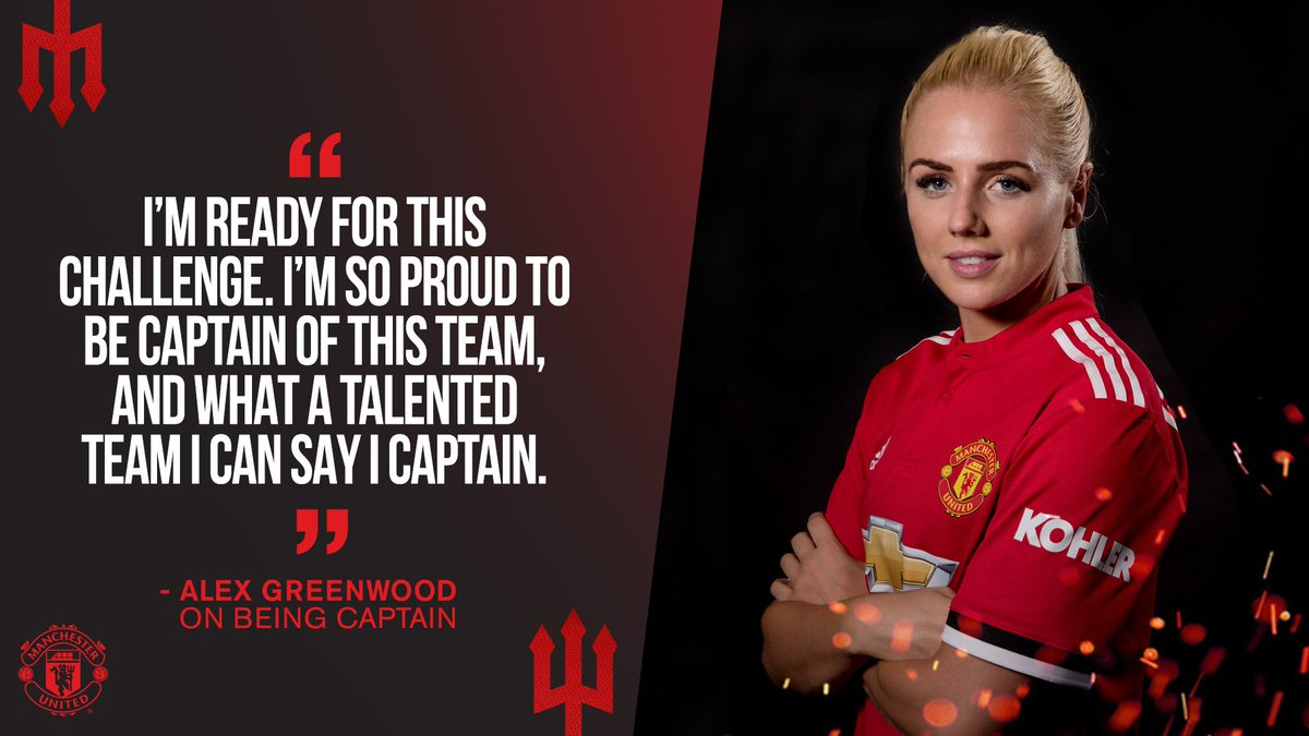 Manchester United On Twitter Muwomen Captain Alexgreenwood Can T Wait To Get Going Mufc