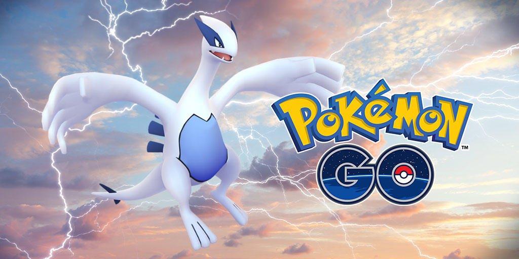 Lugia en Pokémon GO