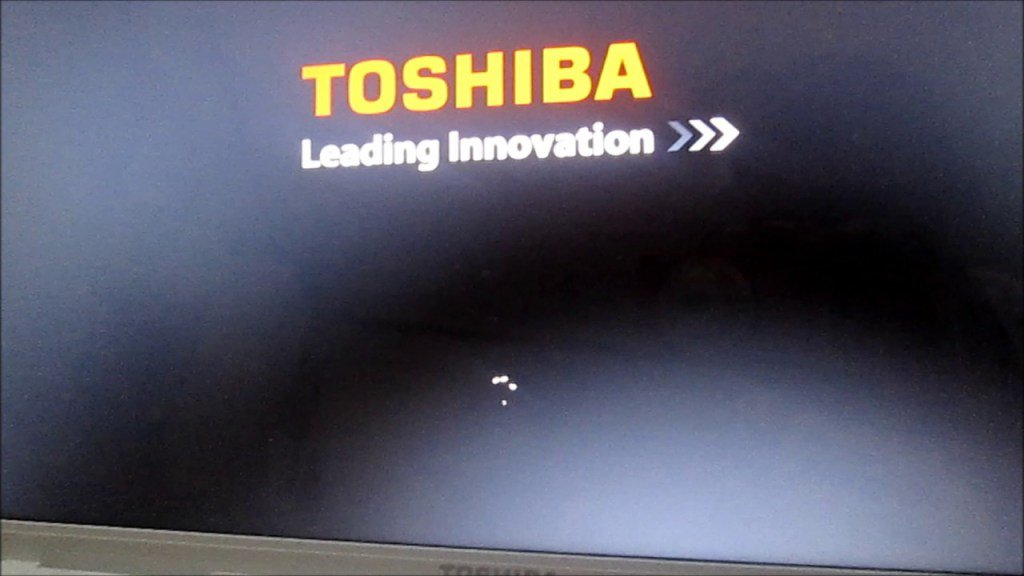 restart toshiba satellite laptop