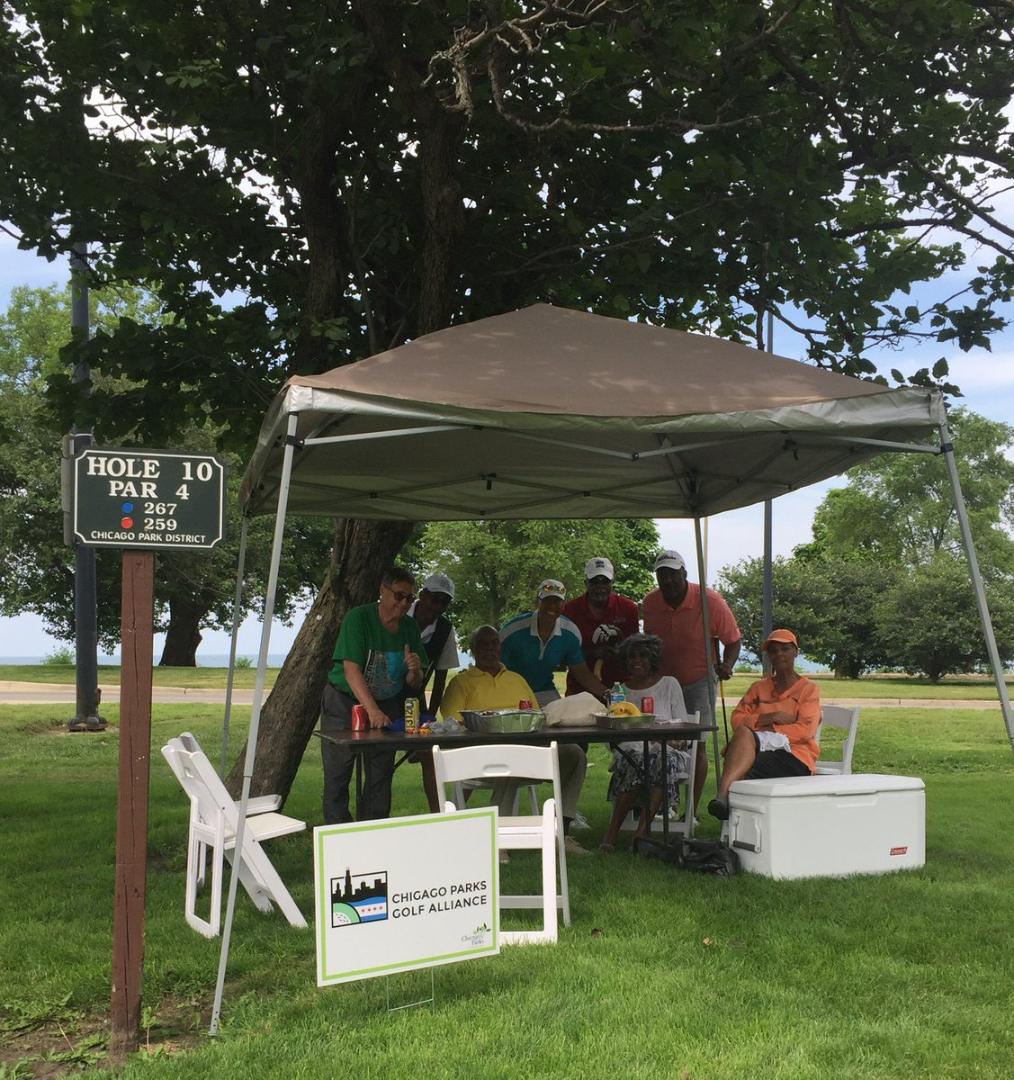 2018 Play for the Parks Golf Invitational. Thanks @ChiParksfdn for a fun day showcasing @ChicagoParks Jackson Park Golf Course!